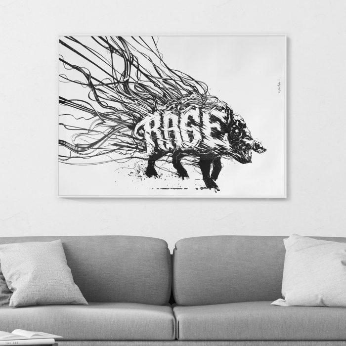 art print framed